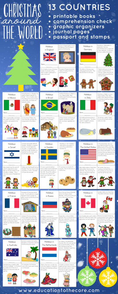 holidays around the world preschool holidays around the world unit and mini books 895