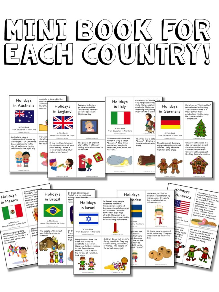Holidays Around the World Unit