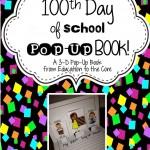 100 Days of School Pop-Up Book!