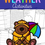 Weather Pop-Up Book and Special Writing and Graphing Freebie!