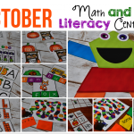 10 October Centers for Math and Literacy!