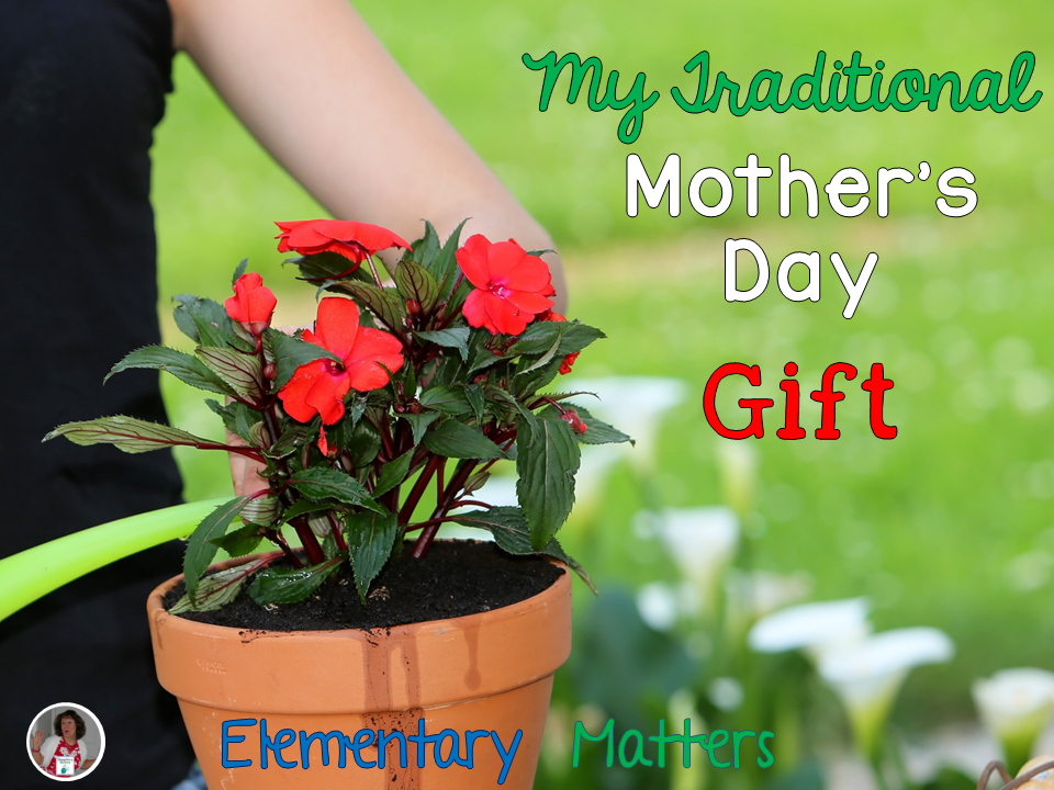 Mother's Day Flower Pot from Elementary Matters