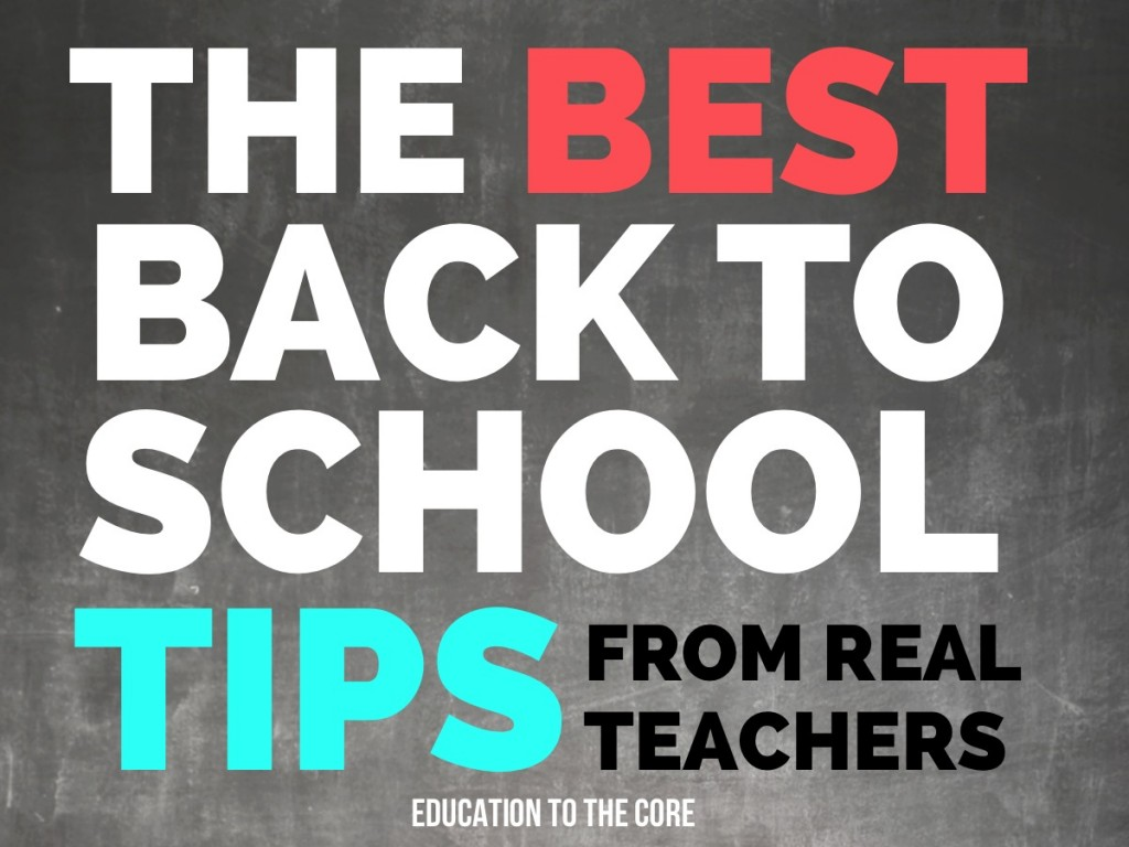 The Best Back to School Tips from Real Teachers