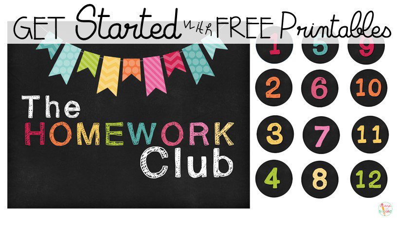 Get Started with FREE Homework Club