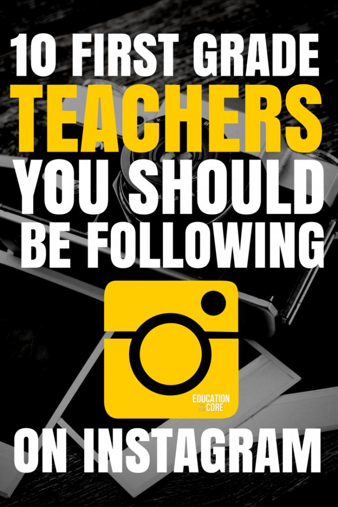 5 First Grade Teachers to Follow on Instagram