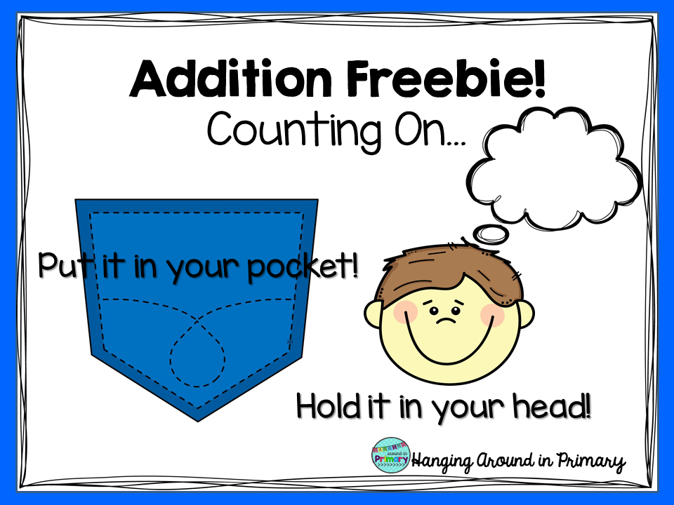 Addition Freebie! Counting on...