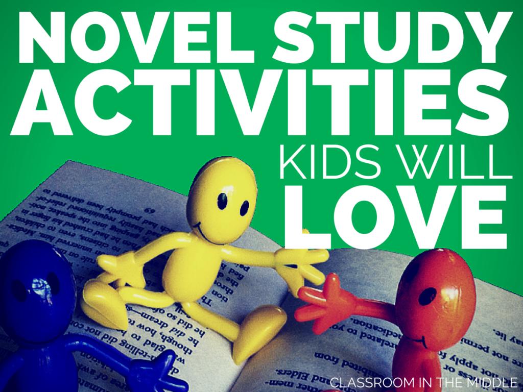 Novel Study Activities Kids Will Love