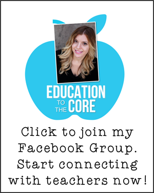 Join the Education to the Core Facebook Group