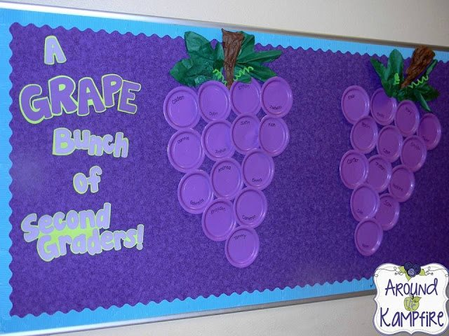 A Grape Bunch of Second Graders from Linda Kamp from Around the Kampfire