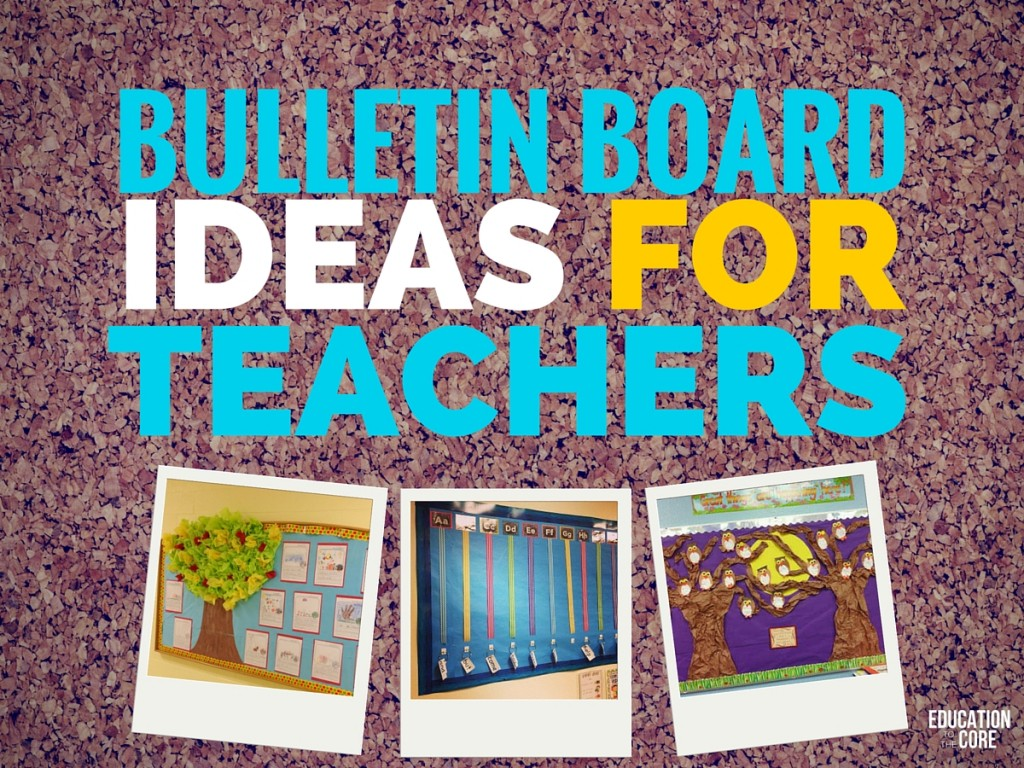 Classroom Ideas Bulletin Boards ~ Bulletin board ideas for teachers