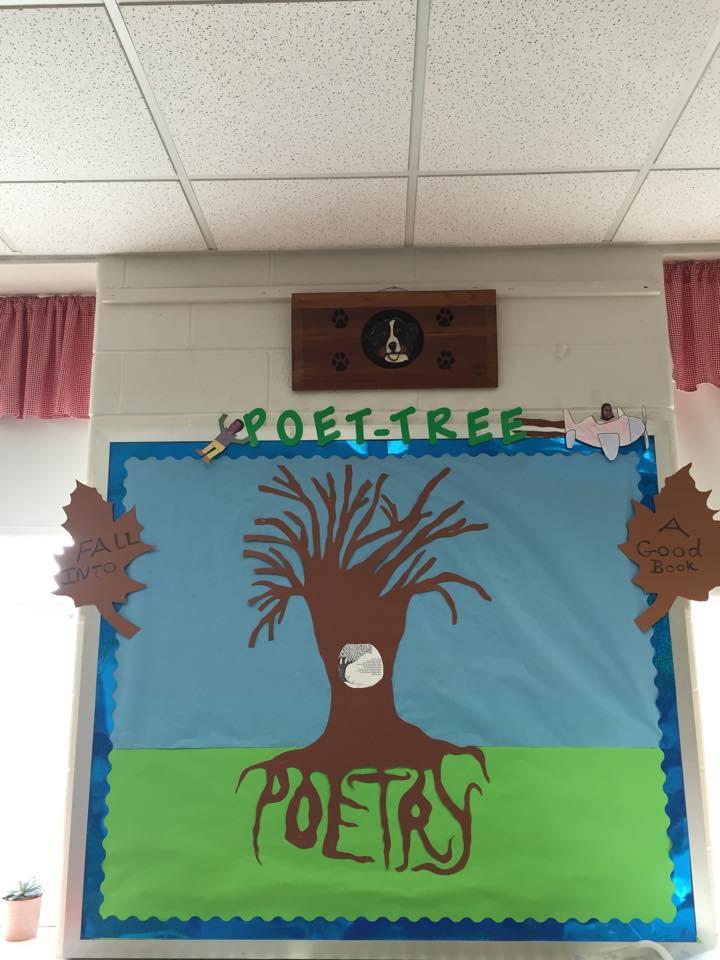 """""""Poet-Tree"""" Poetry Bulletin Board By Marnie M."""