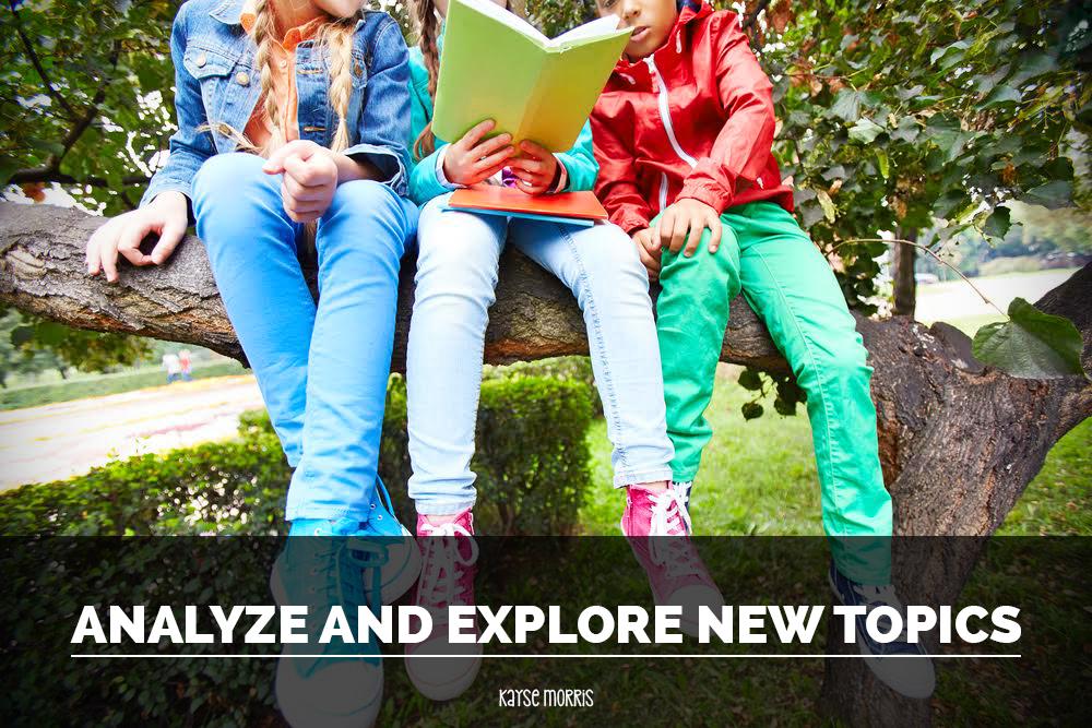 Analyze and Explore New Topics