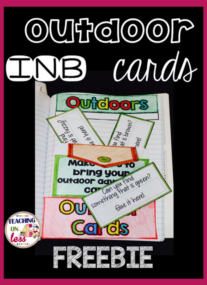 Outdoor INB Cards Freebie