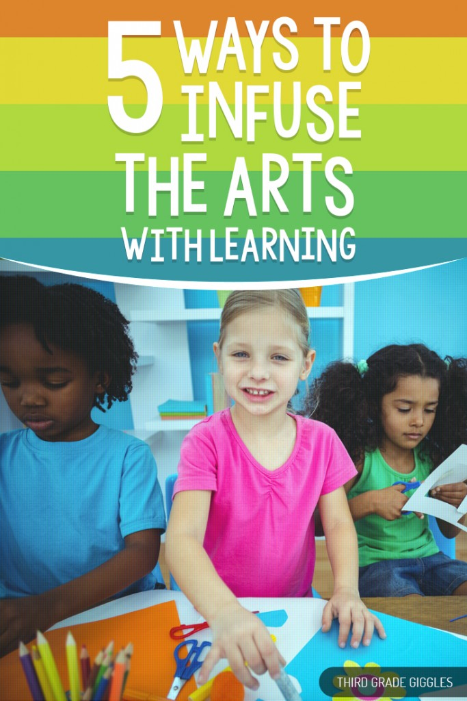 5 Ways to Infuse the Arts with Learning