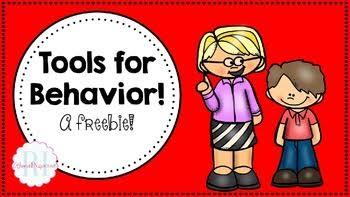 Tools for Behavior Freebie