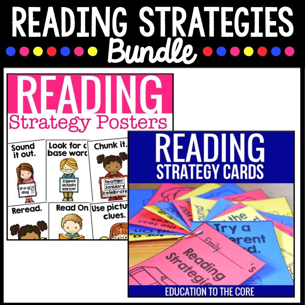 Reading Strategies Bundle
