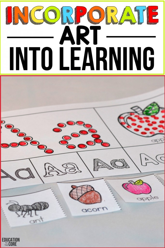 10 Strategies For Teaching Letters And Sounds 7 Incorporate Art Into Learning