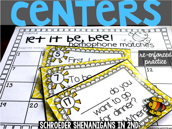 Engage and Differentiate with Task Cards from Schroeder Shenanigans in Second