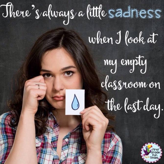 Sadness on the last day