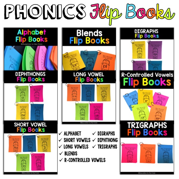Phonics Flip Books