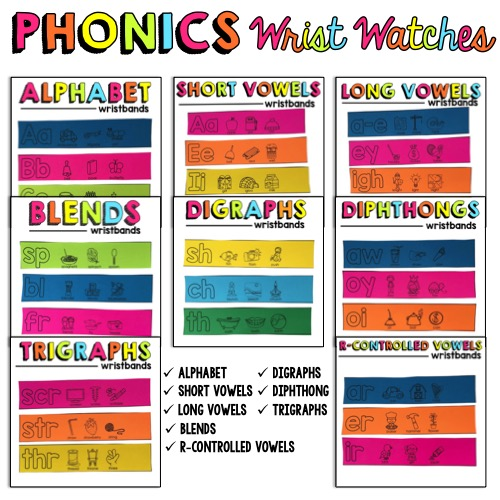 Phonics Wrist Watches