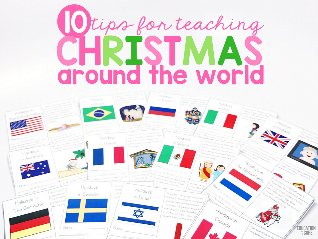 10 Tips for Teaching Christmas Around the World - Education to the Core