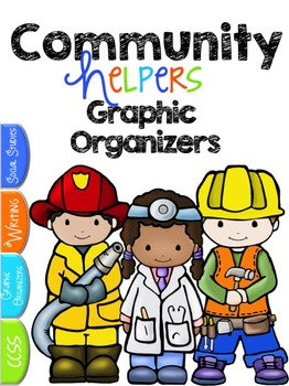 community helpers free a community helpers graphic organizer pack if you are teaching about communities and community workers then this is the freebie - Community Workers