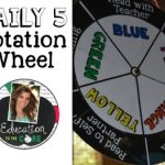 Daily 5 Signs Rotation Wheel