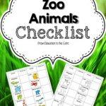Zoo Animals Checklist