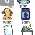 12 Short Vowels Freebie