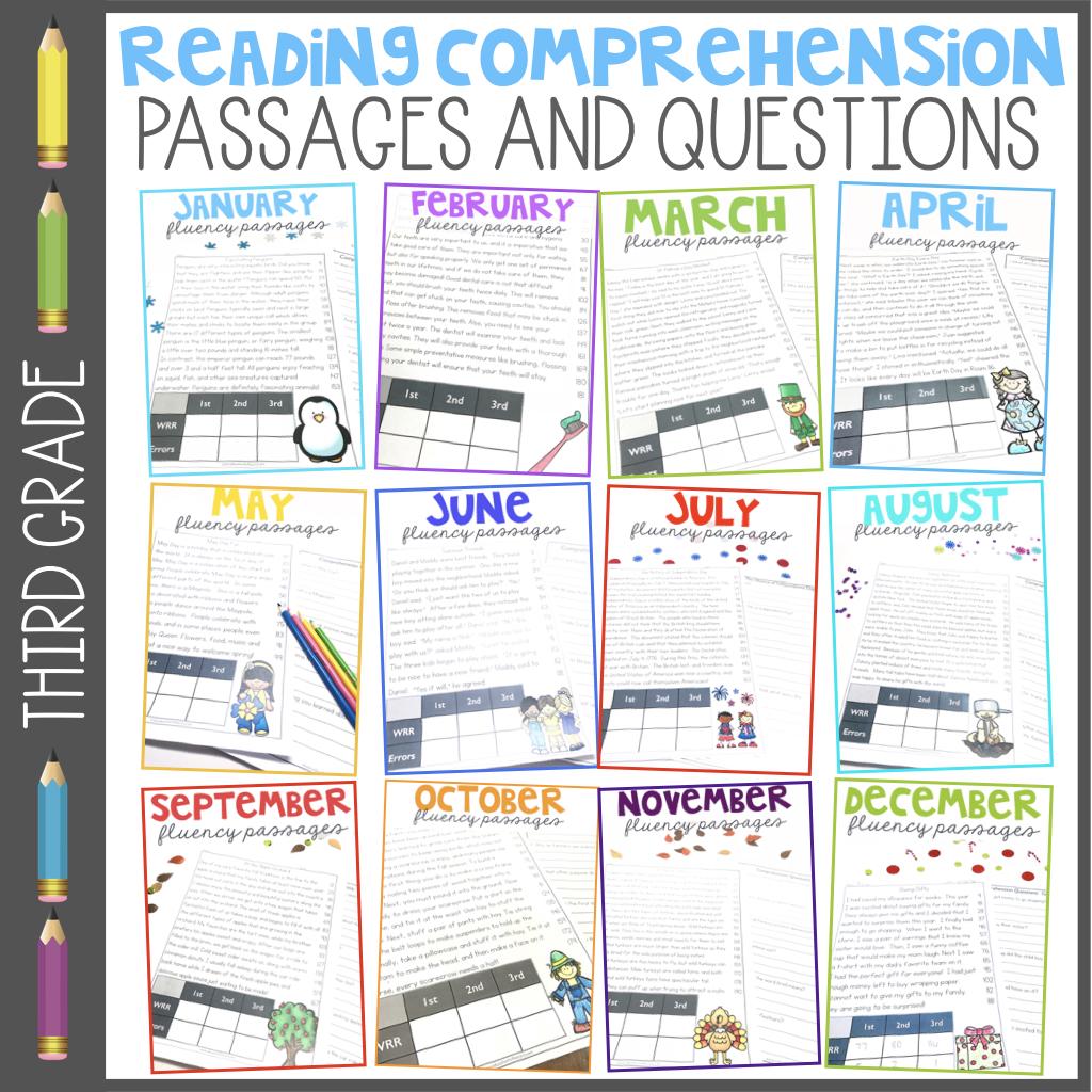 3rd Grade Fluency Passages