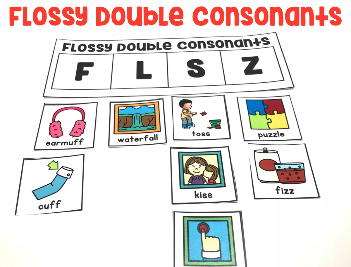 Students will understand the sounds of consonants and organize words by double consonants.