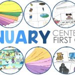 First Grade Literacy Centers for January