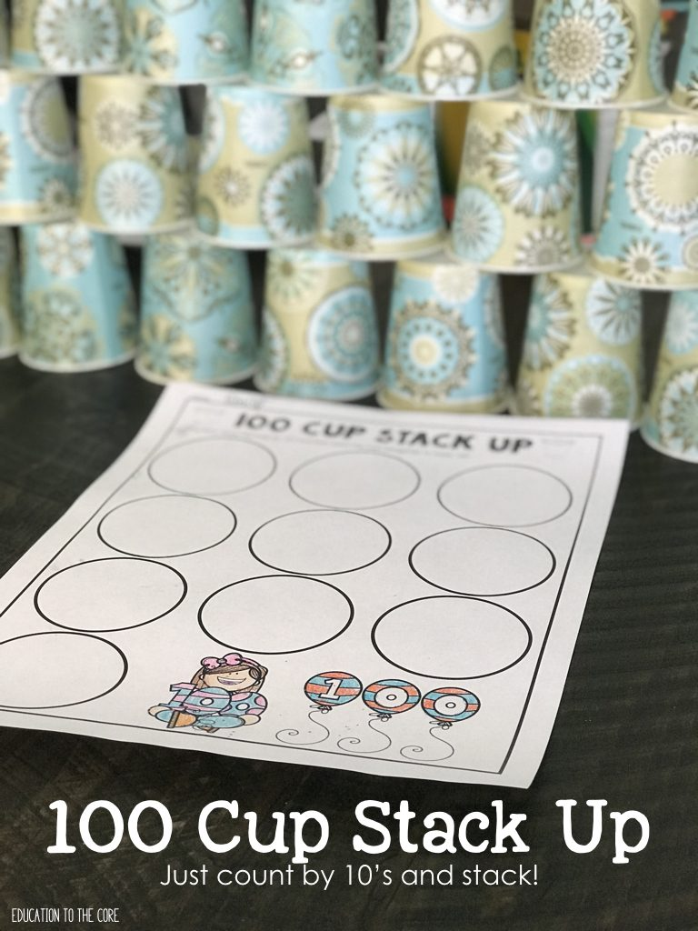 100 Cup Stack Up