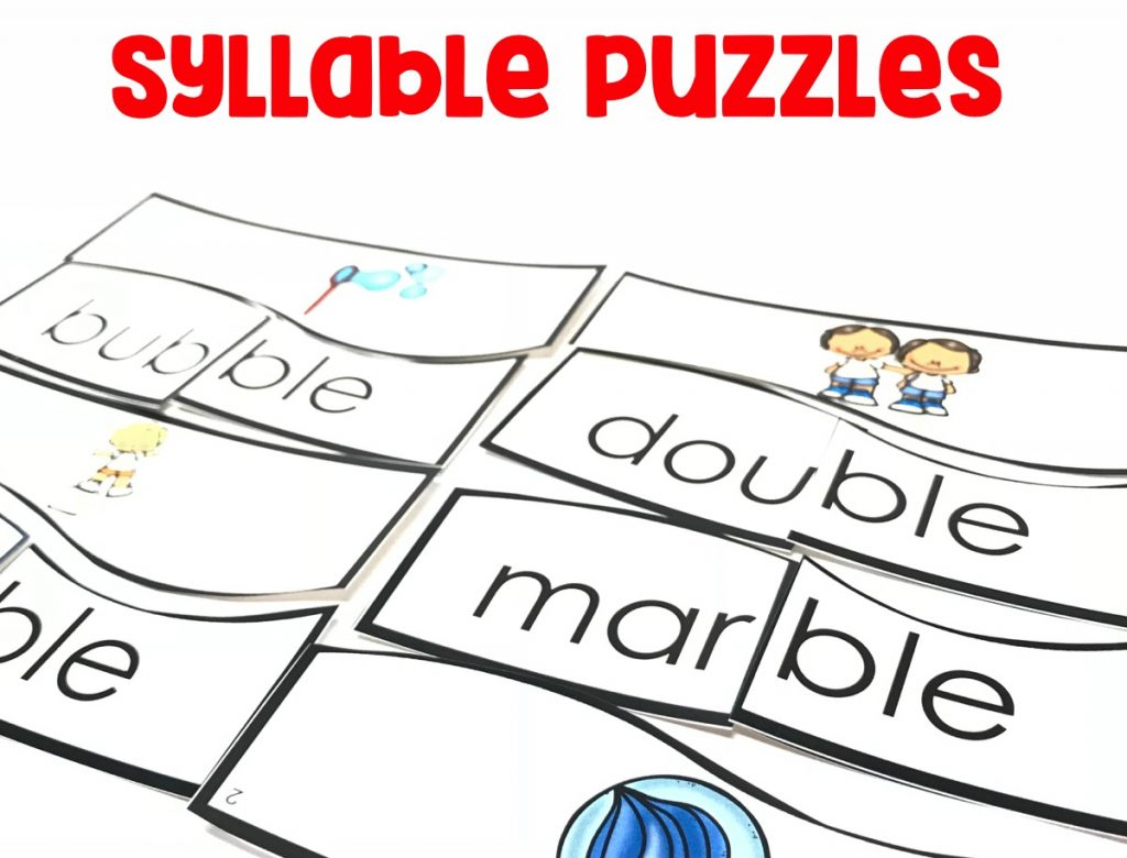 Decode two-syllable words following basic patterns by breaking the words into syllables.