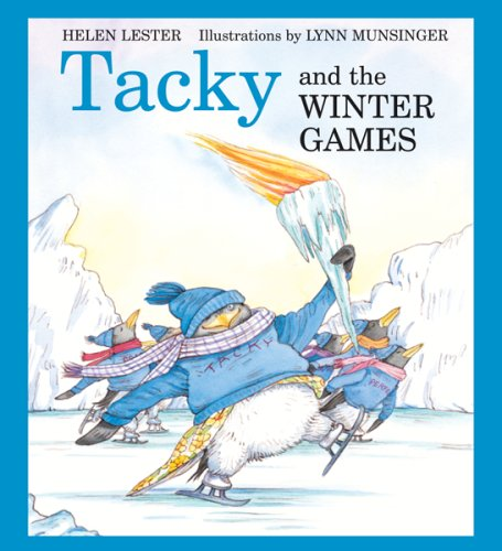 Tacky The Penguin Book Cover ~ Ways to incorporate the winter games into your primary