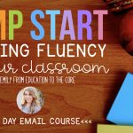 Jump Start Fluency in Your Classroom