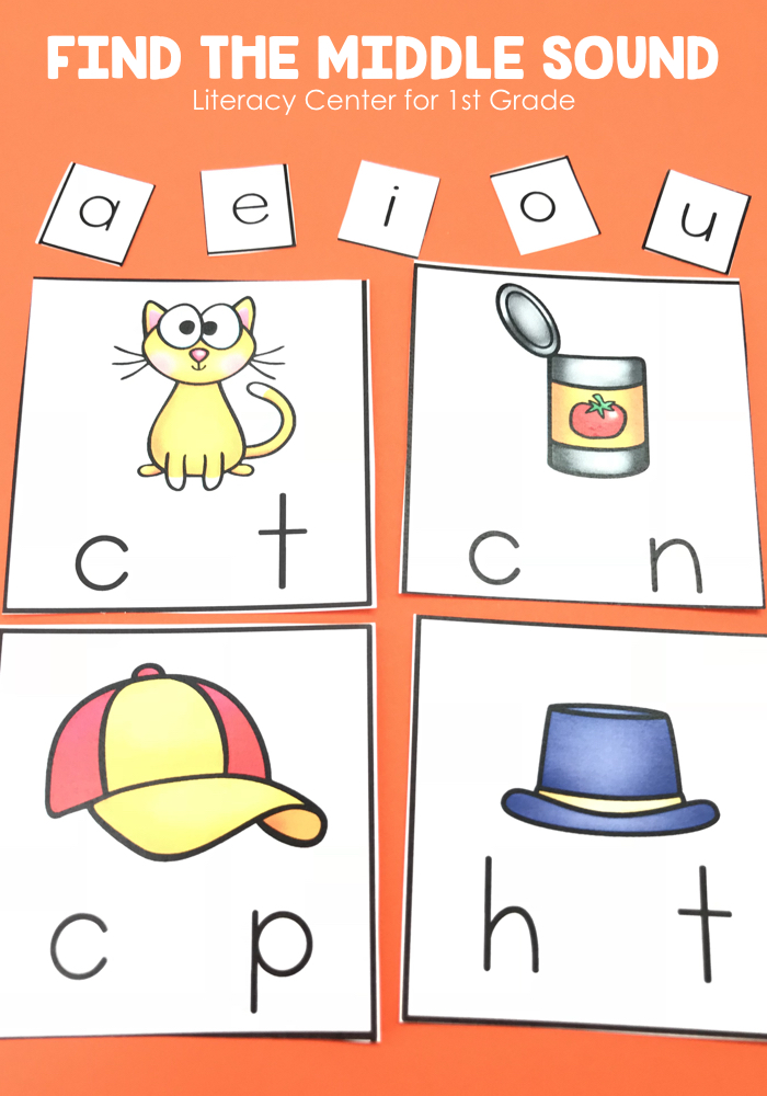 Students will isolate and pronounce initial, medial vowel, and final sounds (phonemes) in spoken single-syllable words.