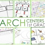 1st Grade Literacy Centers for March