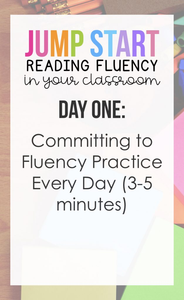 Day One: Committing to Fluency Practice Every Day (3-5 Minutes)
