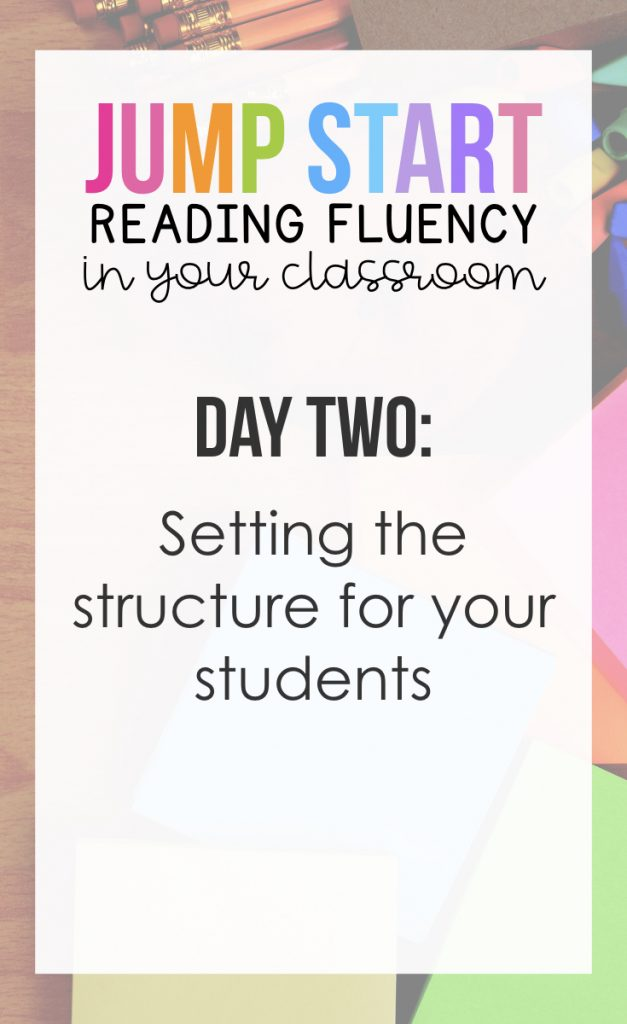 Day 2: Setting the Structure for your Students