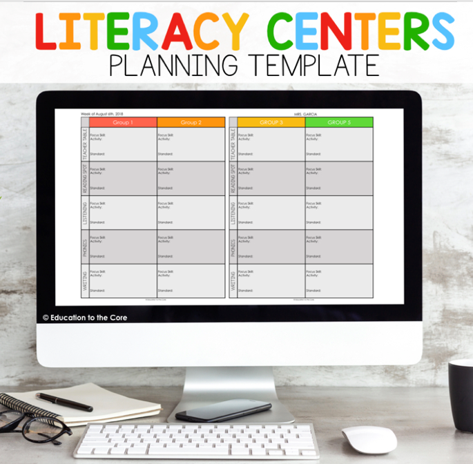 Literacy Planning Template
